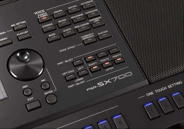 Yamaha PSR-SX700 ¡Lo último de Yamaha!