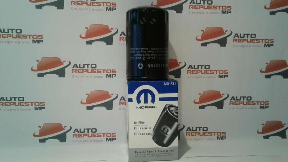 FILTRO ACEITE CHRYSLER JEEP COMPASS AUTOREPUESTOS MP QUITO