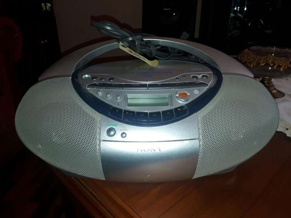 Radio/grabadora/mp3/cd Sony