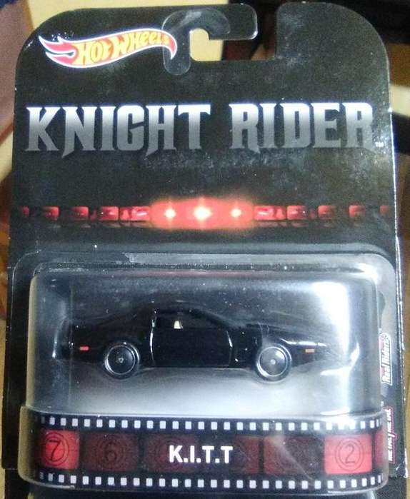 Hot Wheels Knight Rider K.I.T.T. Auto Fantástico