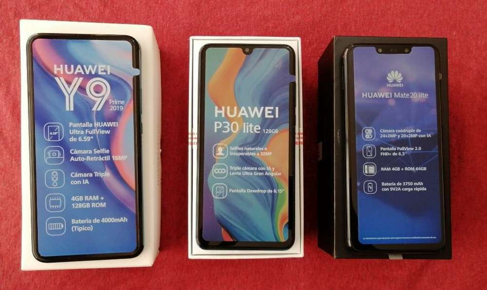 Vendo Equipos Huawei