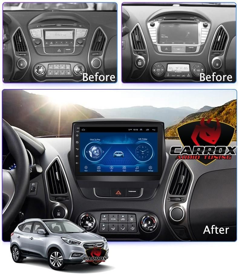 HYUNDAI TUCSON 2010-2015 BLUETOOTH WIFI ANDROID AUTORADIO