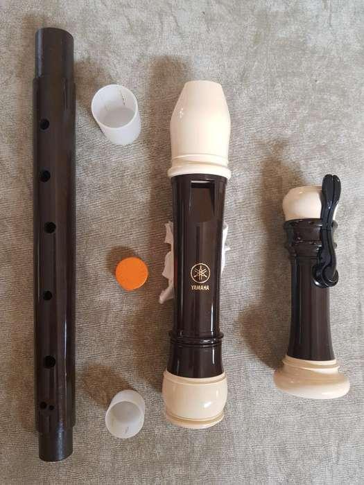 Flauta Tenor Yamaha Yrt 304b Ii Flamante