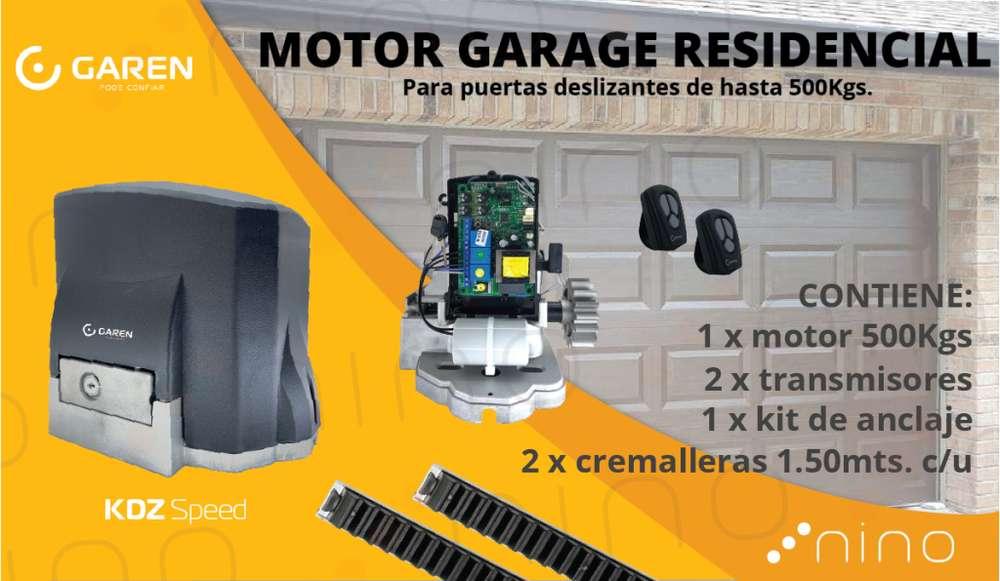 KIT Motor para puerta residencial hasta 500kg