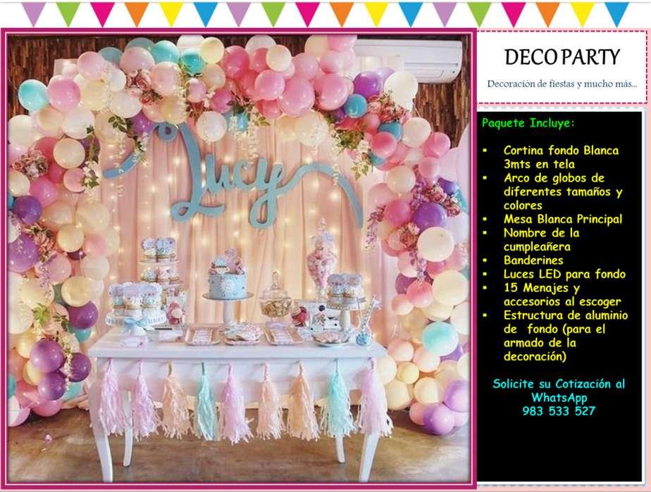 Decoracion de Fiestas Infantiles Globos