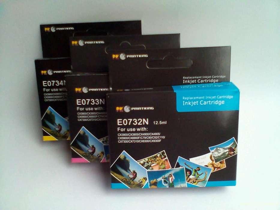 EPSON T0732/33/34 C92/CX 5600/C90/C110/CX5500/T10/T20/T23/TX20014 ml