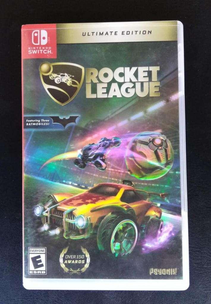 Rocket League Ultimate Edition Nintendo Switch nuevo!!