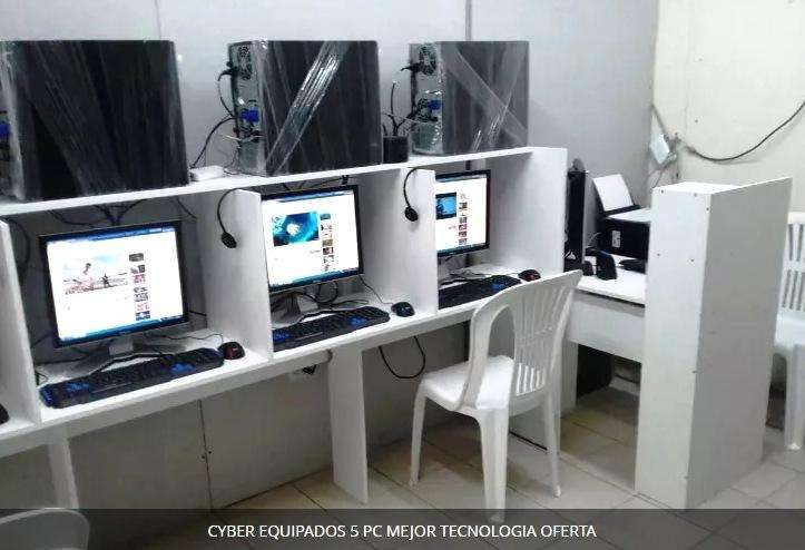 CYBER EQUIPADOS 5 PC MEJOR TECNOLOGIA