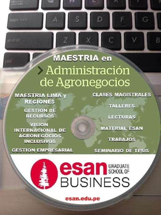 MAESTRÍA EN ADMINISTRACIÓN DE AGRONEGOCIOS