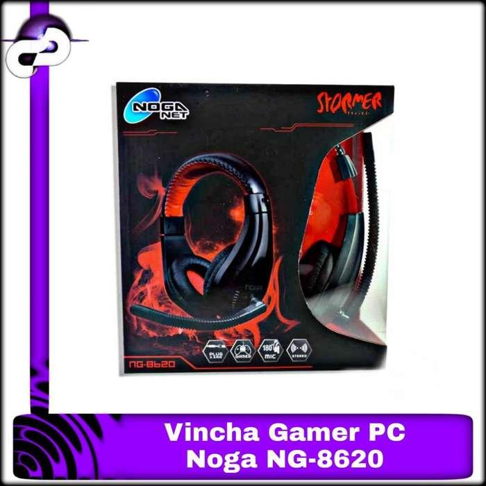 AURICULAR VINCHA NOGA GAMER NG8620 HD MIC
