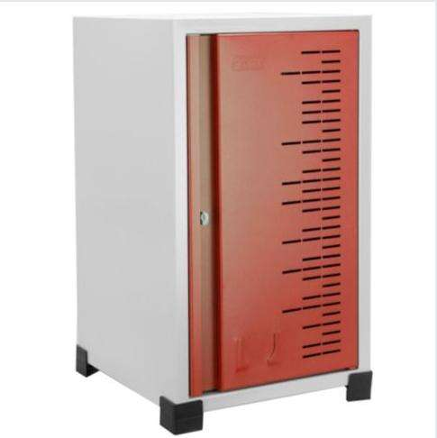 Locker metalico apilable usado color rojo