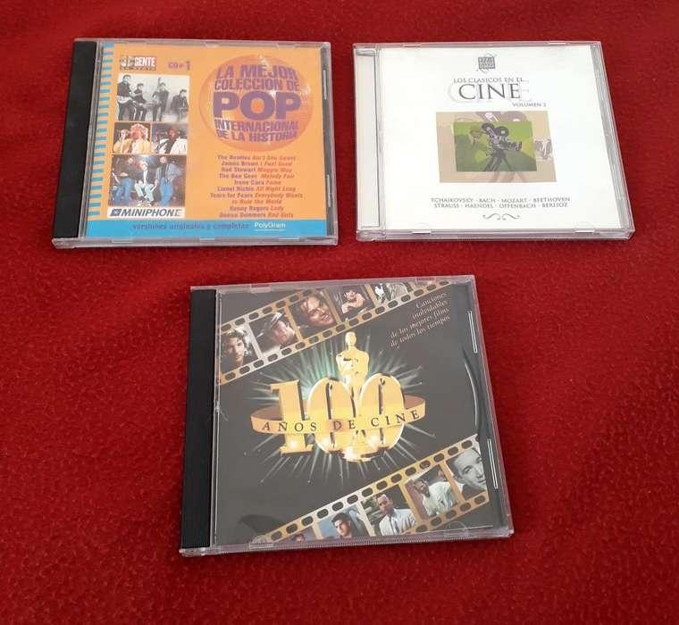 CDs Música de Cine Peliculas La Mejor Coleccion Pop Gente