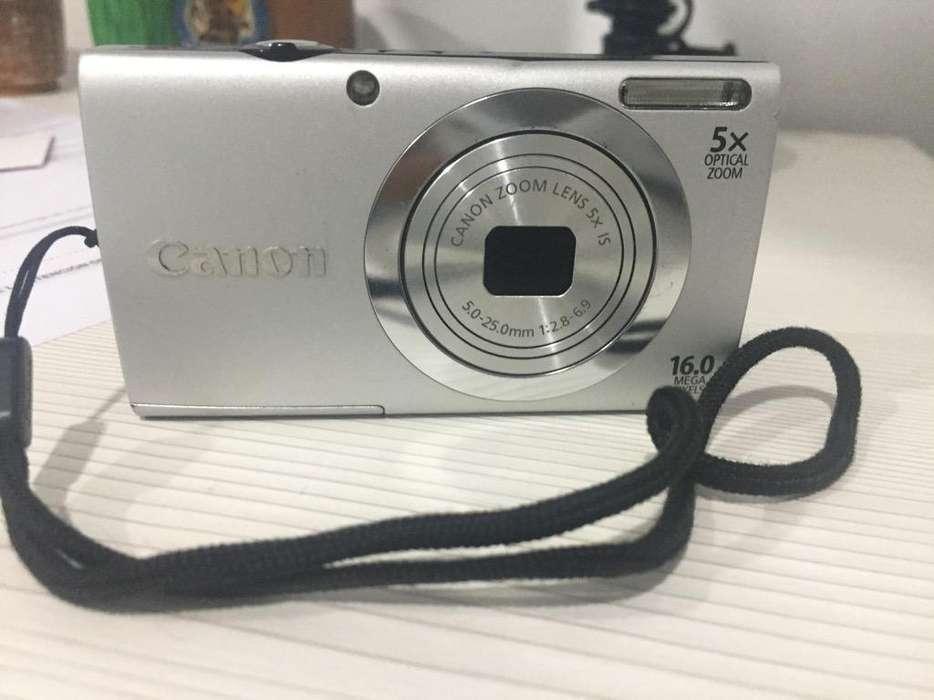Camara Canon Powersh Hd 16Mpx