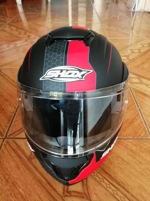Casco abatible shox