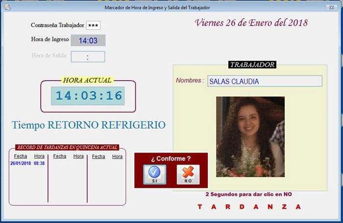 <strong>software</strong> SISTEMA PLANILLA DE PAGOS