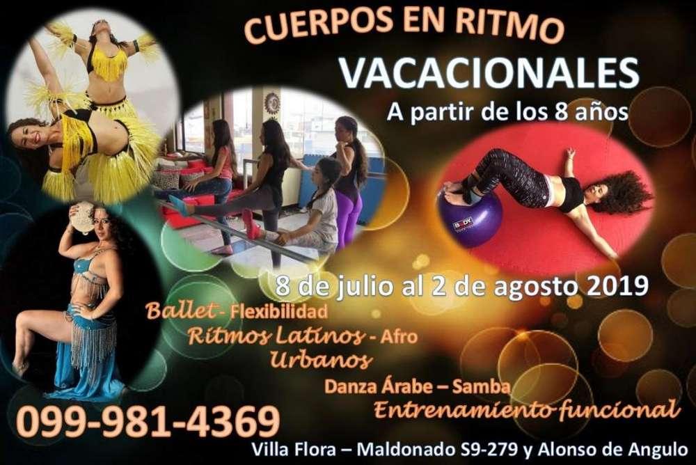 Vacacional de baile al sur de Quito