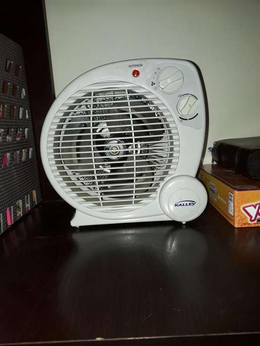 Ventilador Frio o Caliente marca Kalley