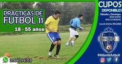 Entrenamiento de Futbol 11 para Adultos
