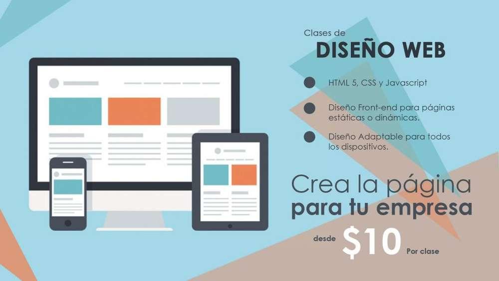 Clases de diseño web. Crea la página web para tu empresa.