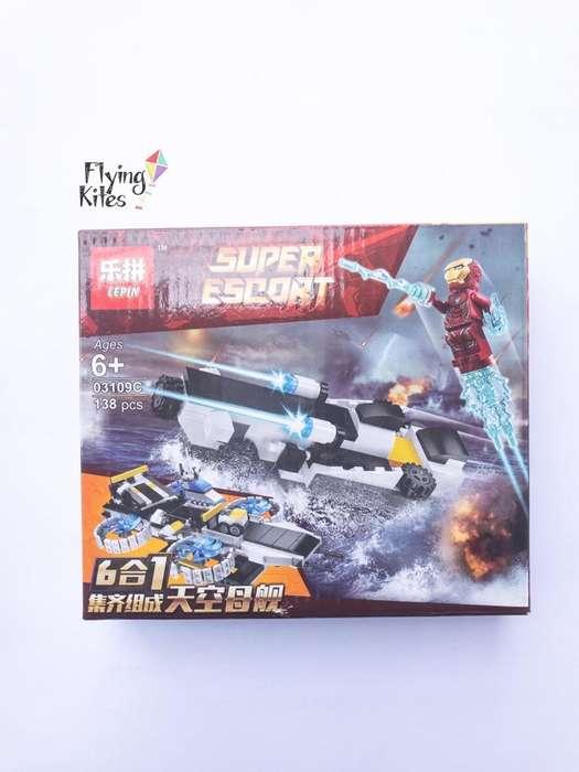 Heroes 6En1 Simil Lego