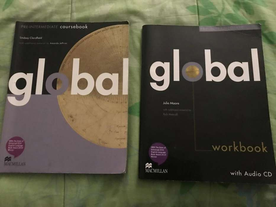 Libro global de ingles Bsico regular