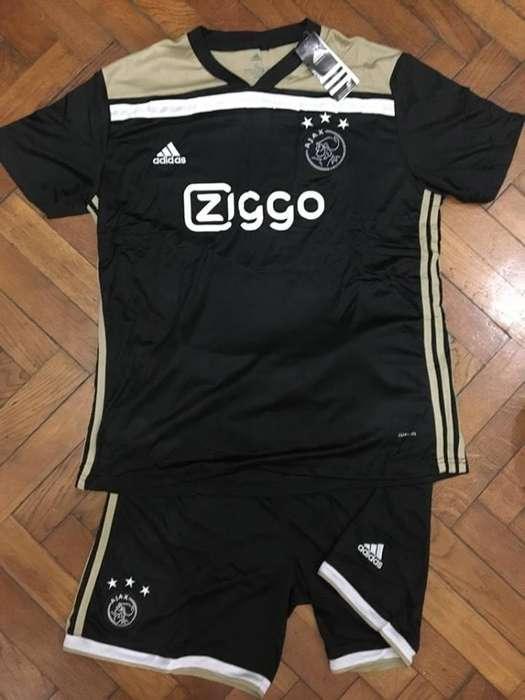 Conjunto Camiseta Short Ajax 2018/19 Alternativa