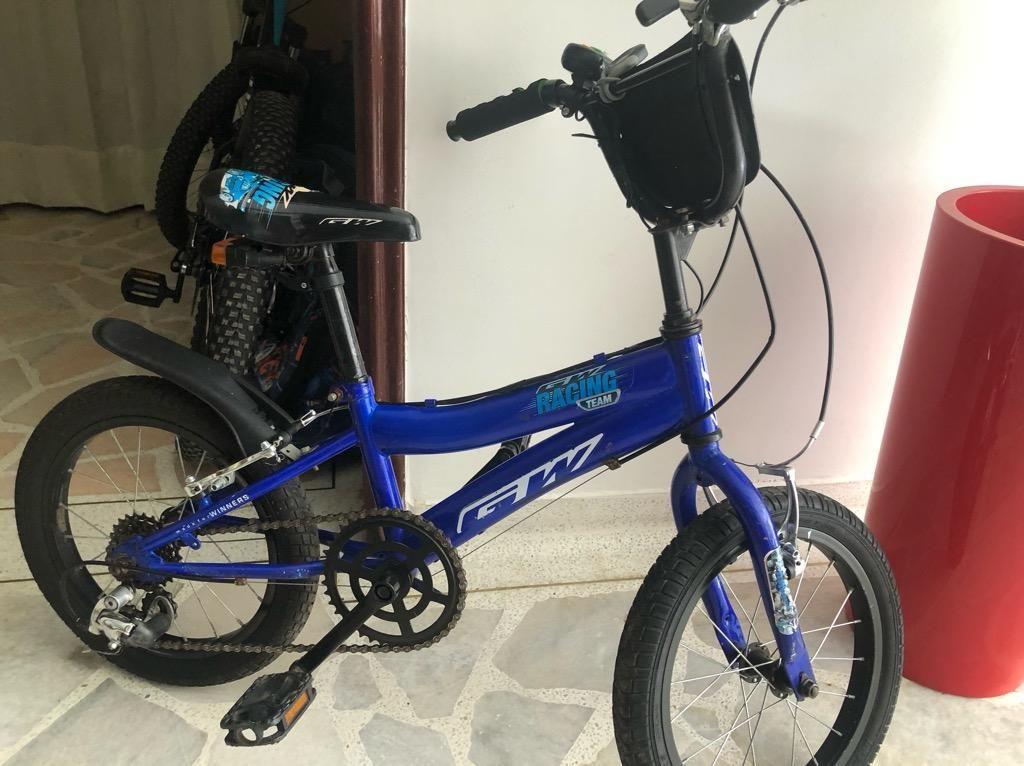 """Bicicleta para Niño Rin 16"""" con Cambios"""