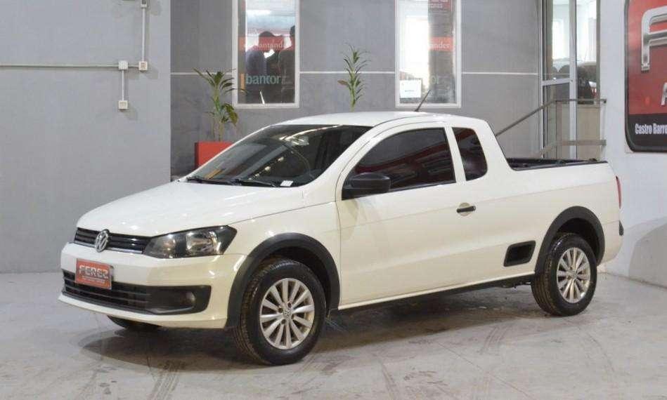 Volkswagen Saveiro 1.6l con gnc 2016 2 puertas imperdible!!