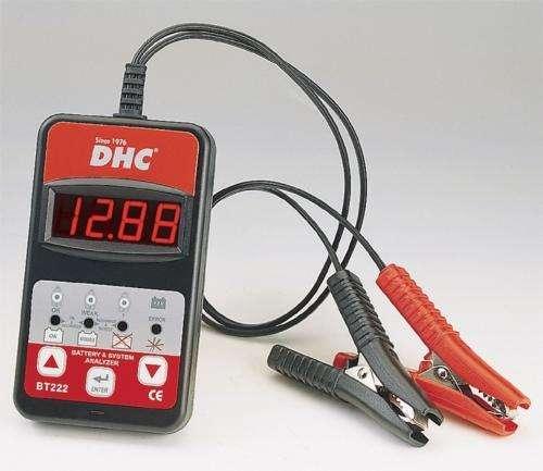 Probador y Analizador de Baterias Digital