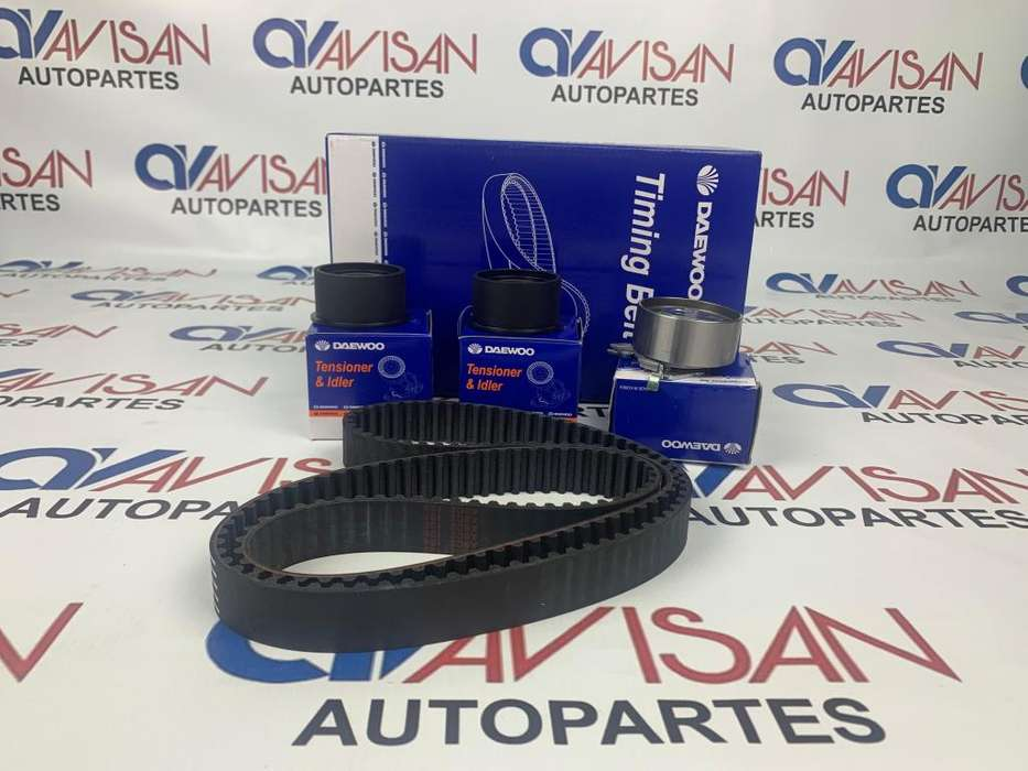 KIT DISTRIBUCION CHEVROLET AVEO EMOTION ACTIVO 1.4L, 1.6L AÑO 2004/2012