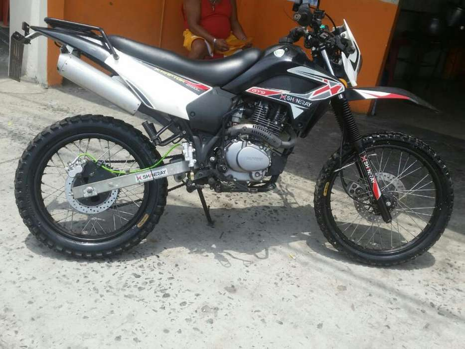 Moto Marca Shineray Tipo Cross