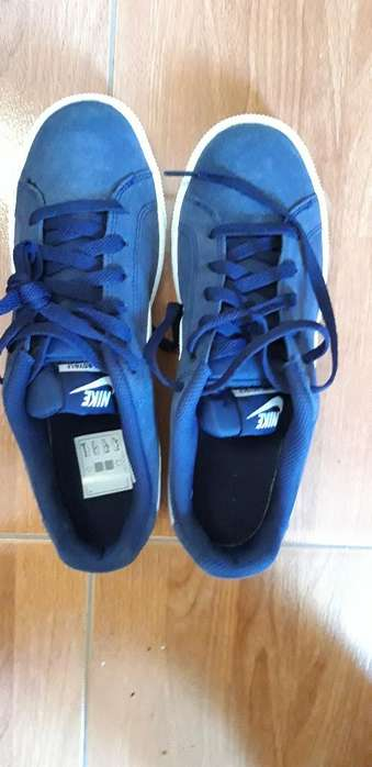 Zapatillas Nike Azules Talla 40 (7)