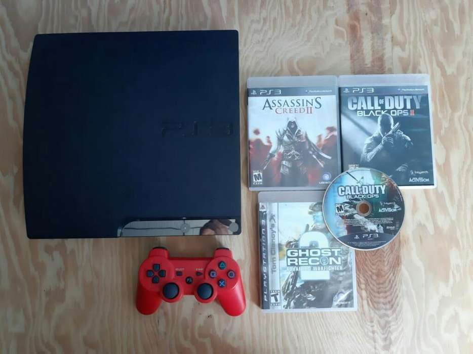 Ps3 Slim de 160gb