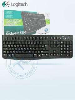 Teclado Logitech K120, USB, Español, Silencioso. Producto en Caja, Funcionalidad Estanda