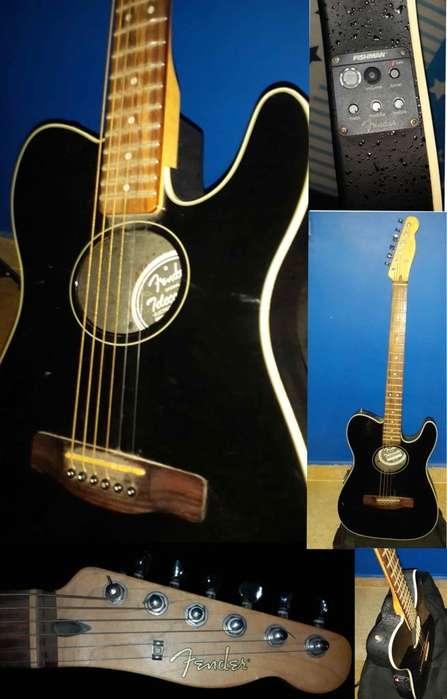 Guitarra Fender Electro Acústica USADA