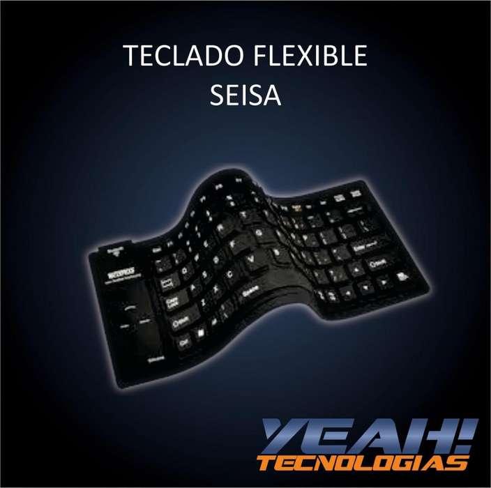 TECLADO FLEXIBLE SEISA