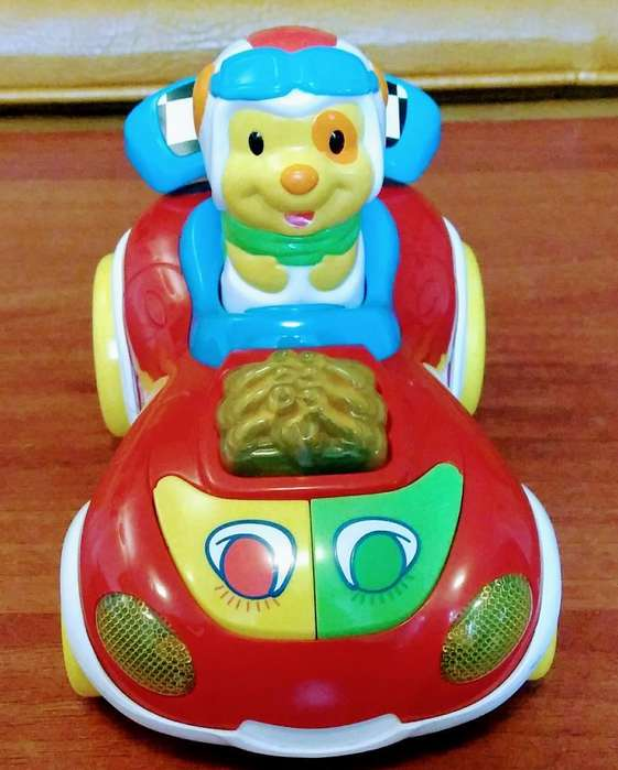 Carro de Traccion Marca Vtech