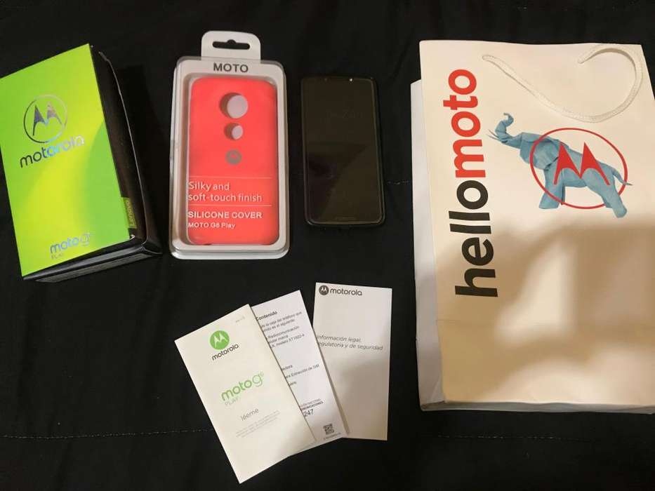Celular Motorola MOTO G6 PLAY, 6 meses de uso