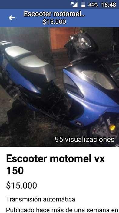 Vendo O Permuto Motomel Vx150