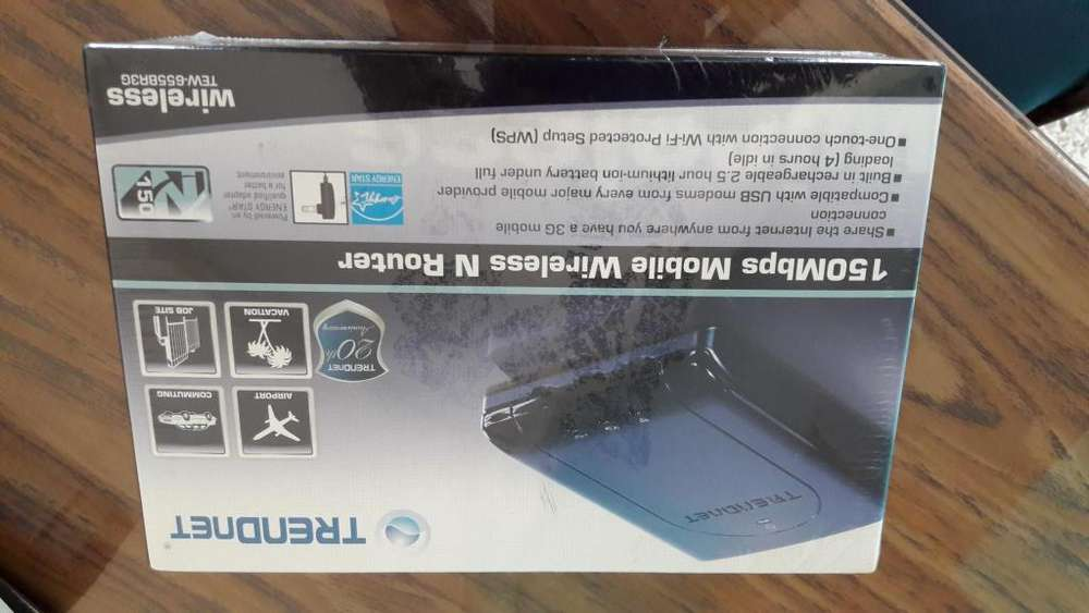 ROUTER TRENDNET 150 MBPS MOBIBLE WIRELESS