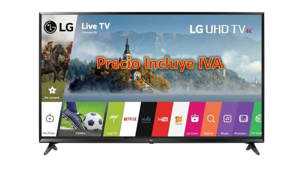 Televisor Lg 60 Smart Tv Web Os 3.5 4k 32 43 48 55 PRECIO INCLUYE IVA