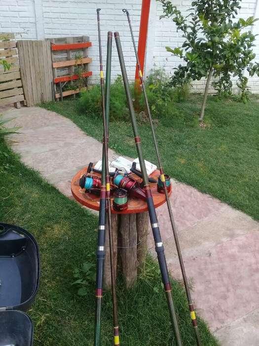 Vendo 2 Cañas de Pescar Completa