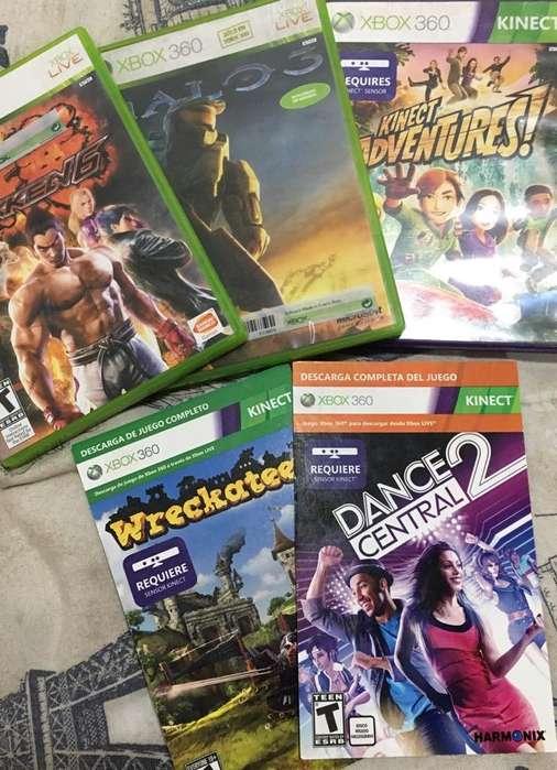 5 Juegos Xbox 360 Kinect