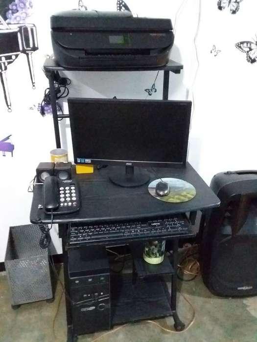 Computador Completo Y Cama