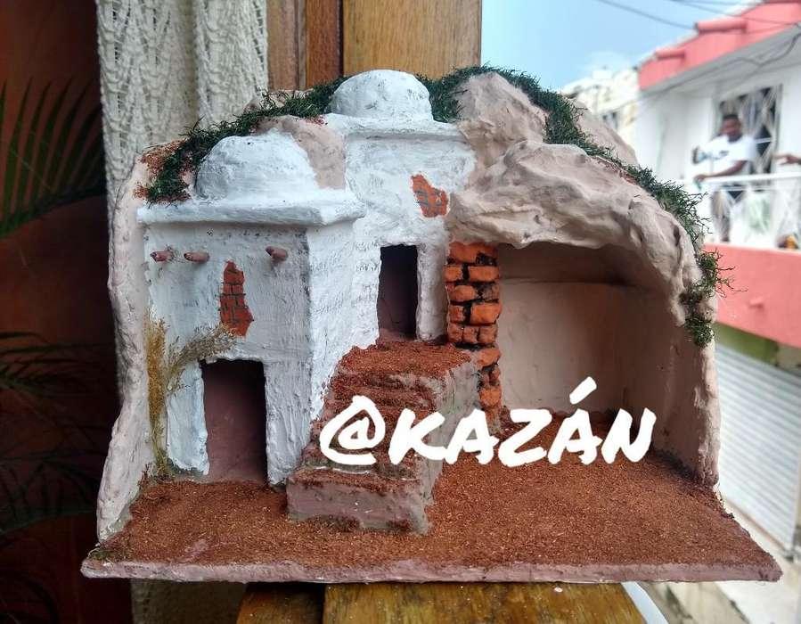 Casa para Pesebre @kazan