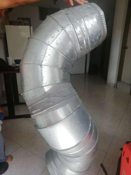 Ducto Extractor de Cocina de Aluminio