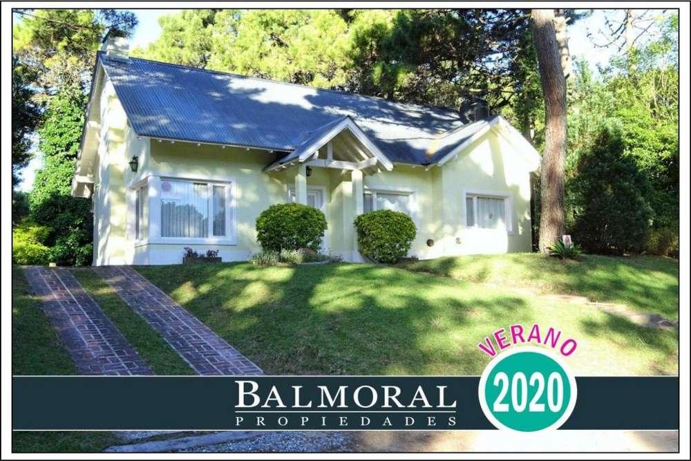 Ref: 8012 - Casa en alquiler - Pinamar, Zona Bosque