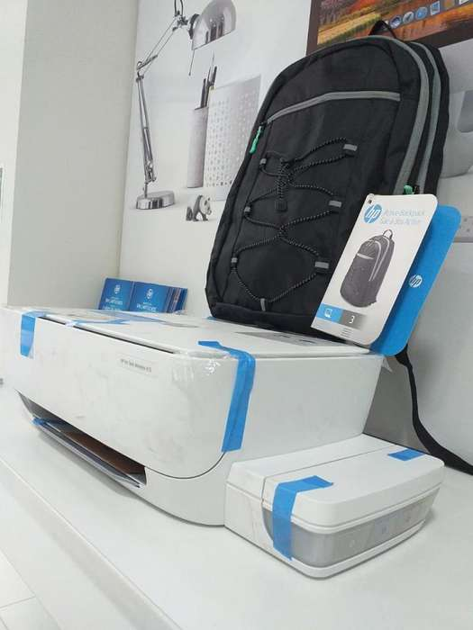 Impresora Multifuncional HP Inktank 415 Wifi color blanco Sist. Continuo <strong>mochila</strong>