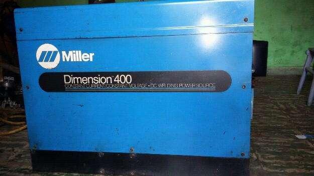 Soldador Miller 400 Amperios