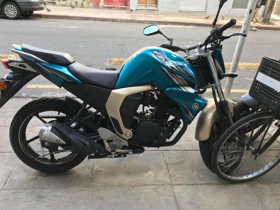 Yamaha fz 2018 3000km nueva